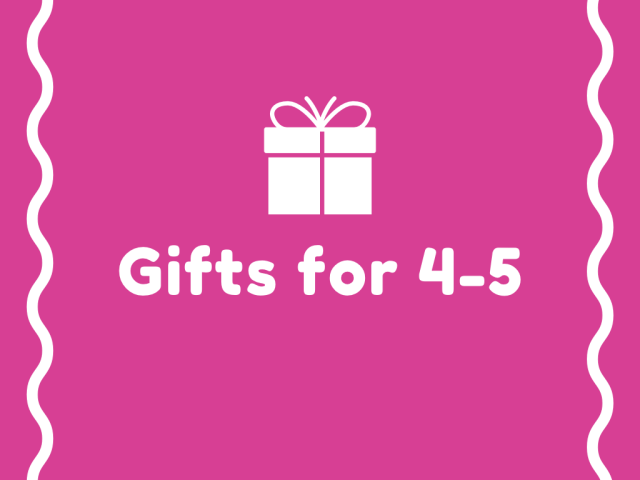 gifts for 4-5 years old