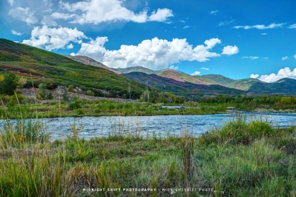 The Provo River in Utah
