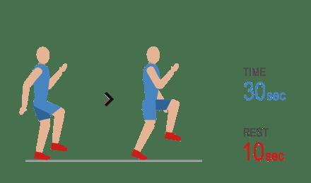 Image result for 9. High knees