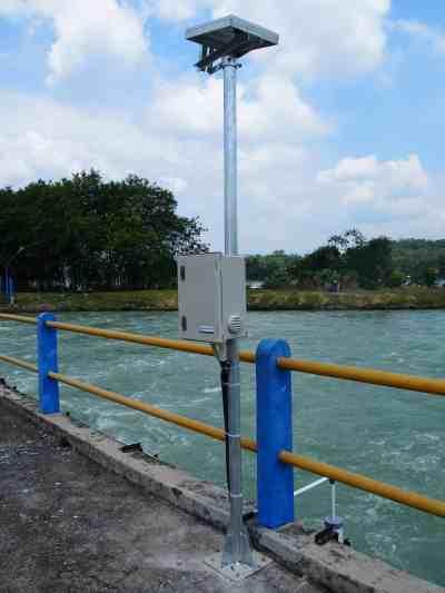 水位計 インドネシア PJT2 チュルック堰