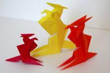 折り紙カンガルー