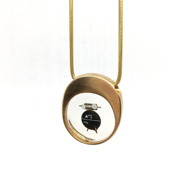 Midorj RB25 - pendente in bronzo creato da Camilla Andreani per Midorj