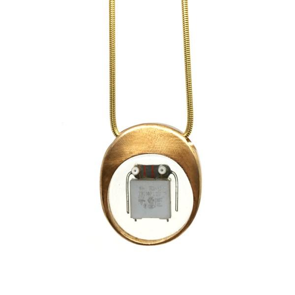 Midorj RB22 - pendente in bronzo creato da Camilla Andreani per Midorj