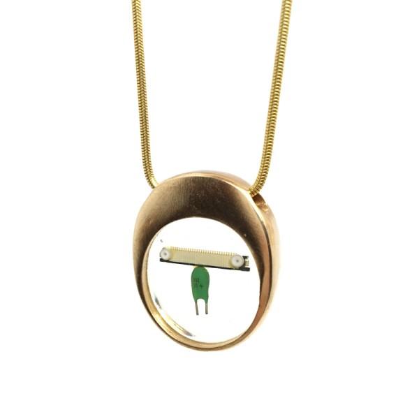 Midorj RB19 - pendente in bronzo creato da Camilla Andreani per Midorj