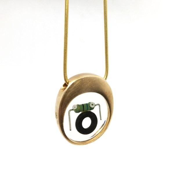 Midorj RB11 - pendente in bronzo creato da Camilla Andreani per Midorj