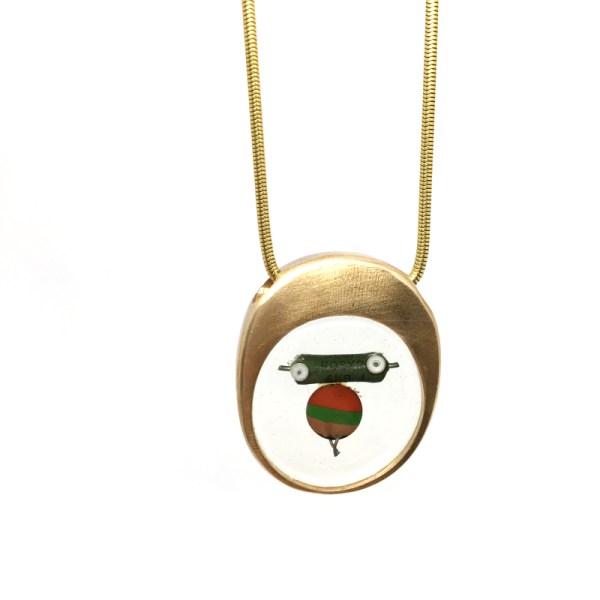 Midorj RB4 - pendente in bronzo creato da Camilla Andreani per Midorj