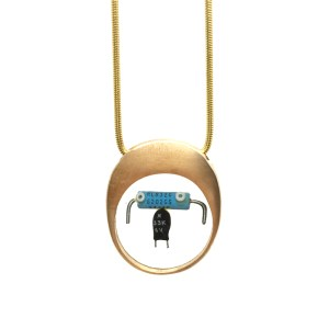 Midorj RB5 - pendente in bronzo creato da Camilla Andreani per Midorj