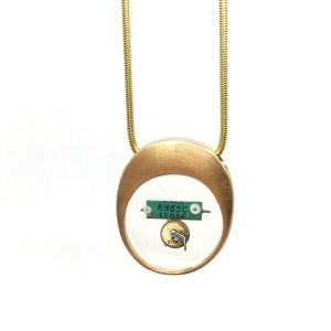 Midorj RB6 - pendente in bronzo creato da Camilla Andreani per Midorj