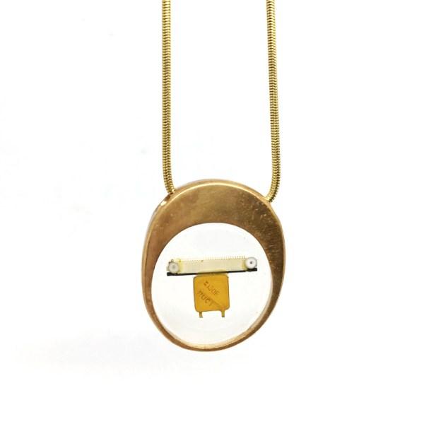 Midorj RB13 - pendente in bronzo creato da Camilla Andreani per Midorj