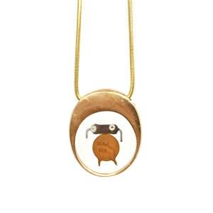 Midorj RB12 - pendente in bronzo creato da Camilla Andreani per Midorj