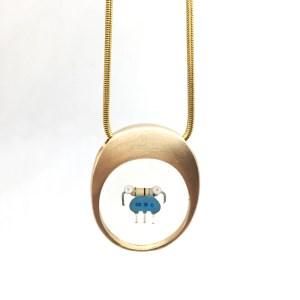 Midorj RB30 - pendente in bronzo creato da Camilla Andreani per Midorj