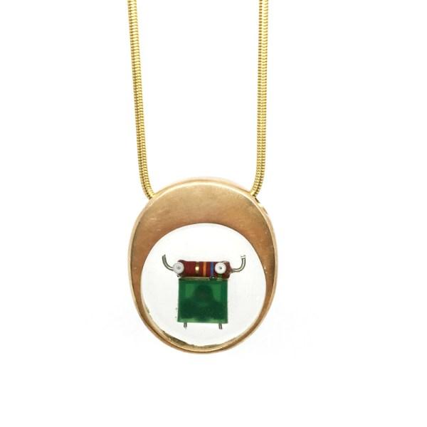 Midorj RB32 - pendente in bronzo creato da Camilla Andreani per Midorj