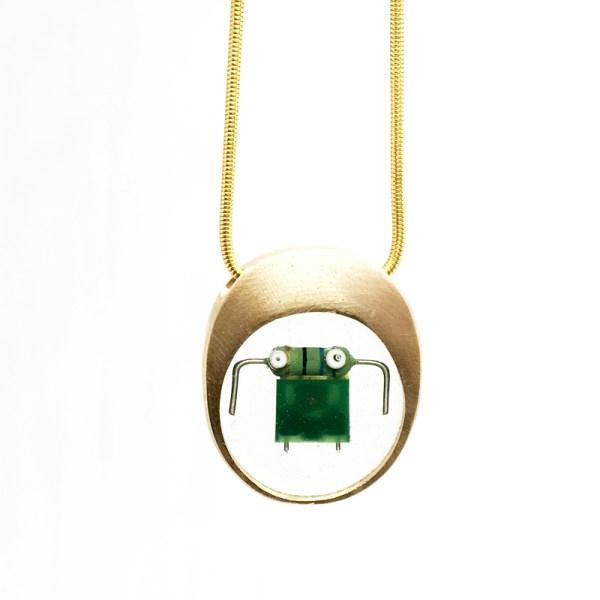 Midorj RB37 - pendente in bronzo creato da Camilla Andreani per Midorj