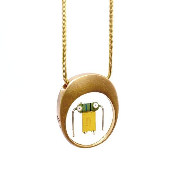 Midorj RB45 - pendente in bronzo creato da Camilla Andreani per Midorj