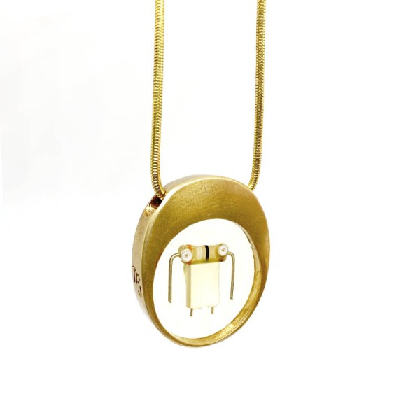 Midorj RB47 - pendente in bronzo creato da Camilla Andreani per Midorj