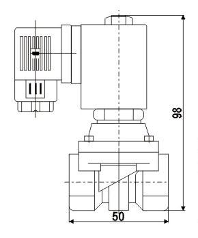 Solenoidový ventil série ZS eko