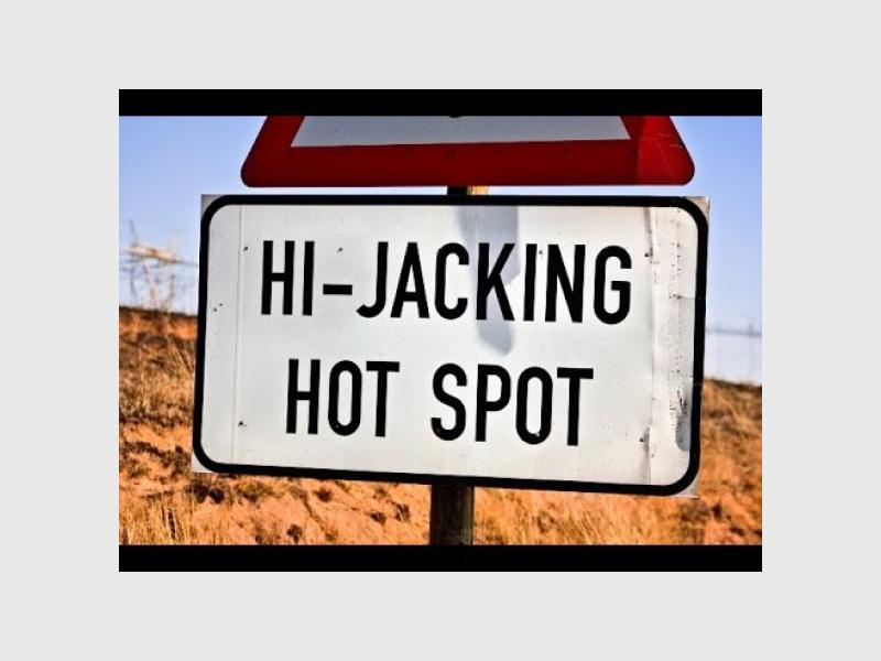 Car hijacking is one of the top crimes in the country.
