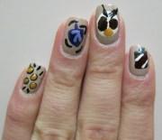 hanukkah holiday nail art midrash