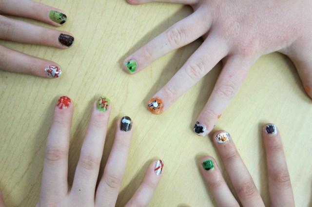 Students Ten Plagues Fingernails