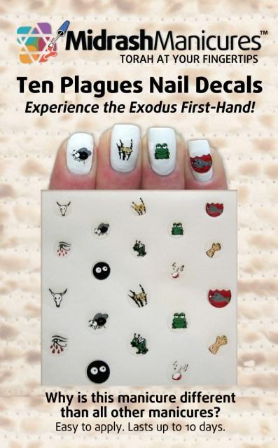 Passover Nail Art