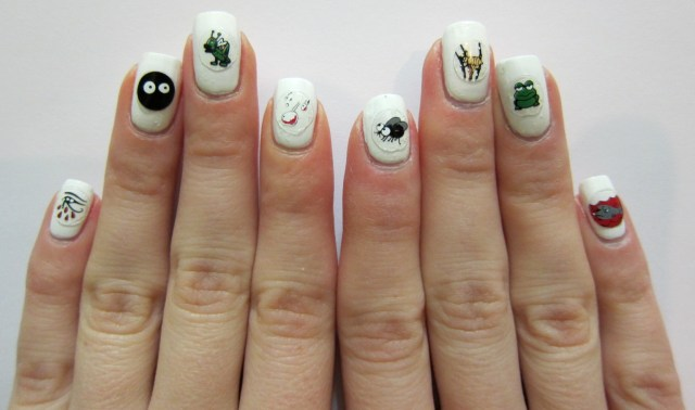 Ten Plagues Nail Art