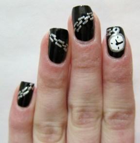 Watch Nail Art
