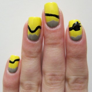 Plug Nail Art