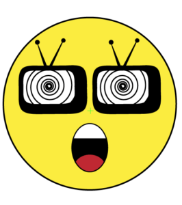 emoji clipart binge icon bingewatching watching midrashmanicures plagues