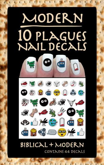 Modern 10 Plagues Nail Decals