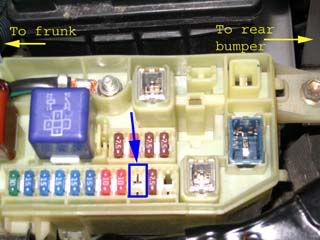 How To: Remove the ECU Fuse and Negative Battery Terminal