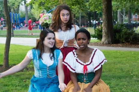 Vivian Knouse as Hero, Ashlee Edgemon as Beatrice, Kanome Jones as Ursula