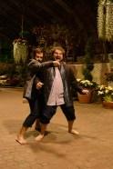 Adam Habben as Sir Andrew Aguecheek and Chris Smith as Toby Belch