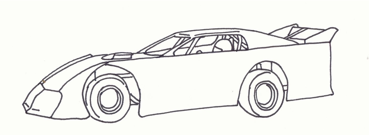 Modified Car Coloring Pages. Wiring. Wiring Diagram Images
