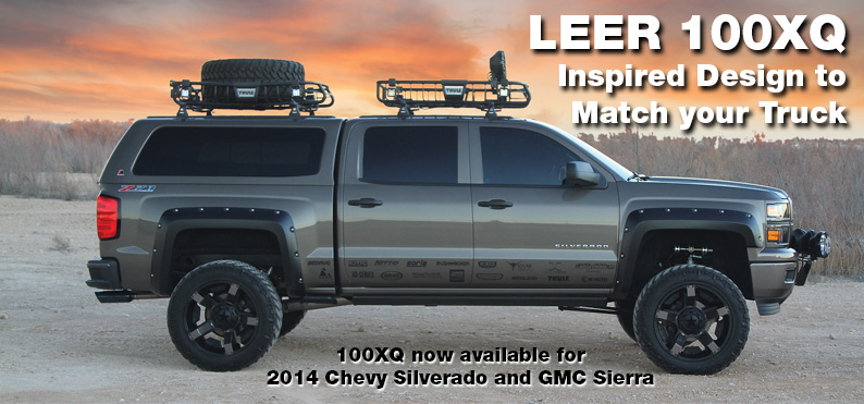 Leer Xq Gm 2014 Truck Caps Toppers And Accessories