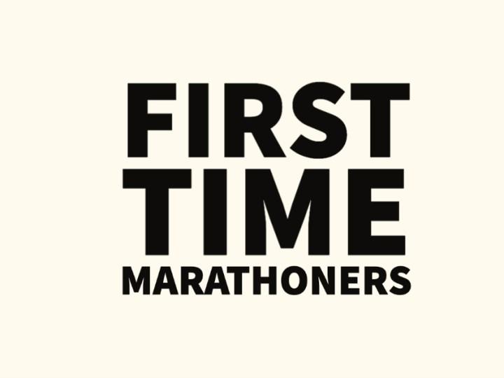 Meet Some First Time Marathoners