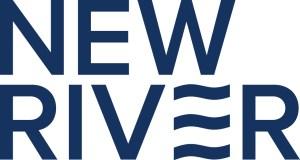 NewRiver Navy Logo JPEG File - White Background