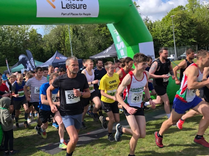 Record numbers entered the 10 Mile event, with many runners taking part in all 3 events this weekend to complete a Marathon distance.