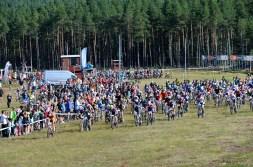 Mora 150814 Starten UngdomscykelVasan och CV 30 Foto Nisse Schmidt