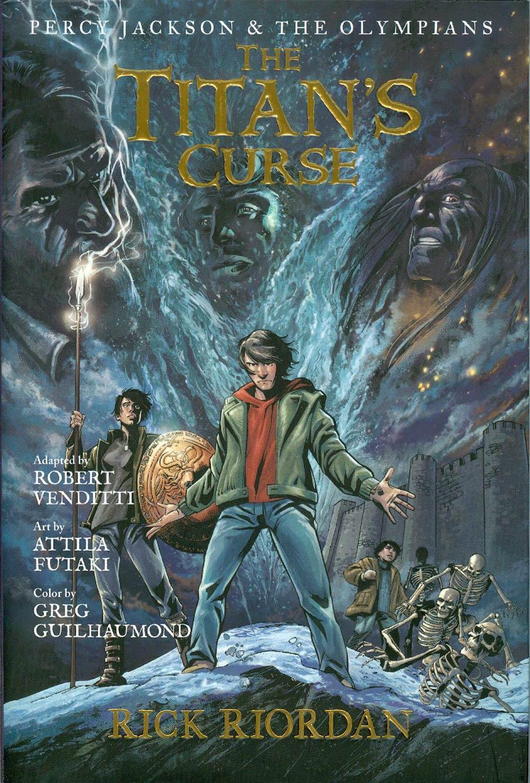 Percy Jackson 3 Film : percy, jackson, Percy, Jackson, Olympians, Graphic, Novel, Titans, Curse, Midtown, Comics