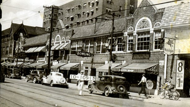The 3500 block of Troost in 1940. Do you remember any of these businesses?
