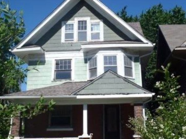 The first home available for purchase in the Est. KC program. Courtesy City of Kansas City.