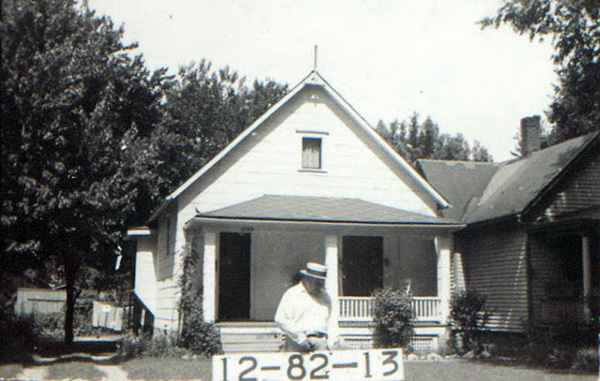 It might be hard to guess that this home was near the corner of 48th and McGee in 1940. Most of the small homes and apartment buildings on the block have now been replaced.