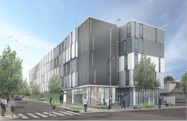 Plans for 3535 Main. Courtesy MAC Properties.