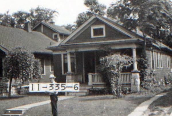 A Corbin Park home in 1940.