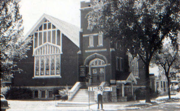 The Swedish Covenant Evangelical Church at the corner of 42nd and Terrace served the surrounding Swedish community.