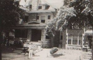 The Preston family lived at 3628 Paseo as early as 1910. John Preston was a millinery merchant. They shared the home withanother family in the 1920s. By 1930, John had passed away, but wife Malvena still lived there with her granddaughter and a lodger.Several other families rented sections of the house that year.