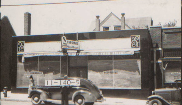 Around 1910, the Dunn home at 3800 Main was one of only two homes of this block which is now lined with commercial spaces and parking lots. That led the Dunns to take advantage of the growing commercial nature of Main –by building business space on to the front of their home. The early mixed-use development was next door to what is now the Unicorn Theater. The Dunn property is now a parking lot.