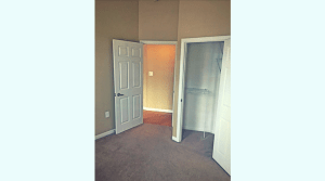 Large closet in updated Champaign apartment