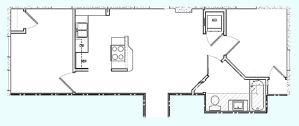 Upscale Loft Style Apartments in Midtown Champaign Unit 203