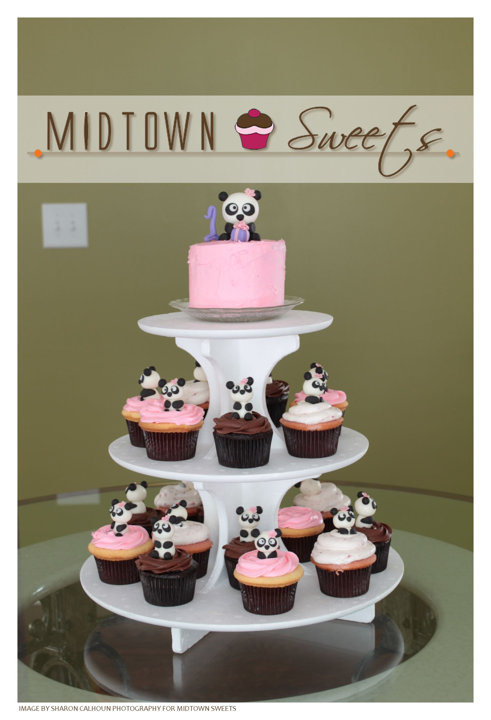 Midtown Sweets  Panda Cupcakes  Smash Cake